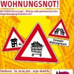 """""""Vorsicht Wohnungsnot!"""" Konferenz am 16. April"""