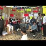 Mietenprotestcamp am Kotti eröffnet