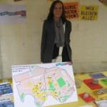 Gentrifizierung - Infostand beim Turmstraßenfest