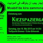 """3. Kiezspaziergang """"Mietenstopp"""" in Moabit"""