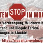 Infostand beim Moabiter Kiezfest