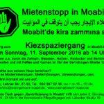 "Kiezspaziergang ""Verdrängung und Mietsteigerung in Moabit West"""