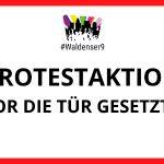 Demo gegen Verdrängung - Waldenser 9: Vor die Tür gesetzt?!